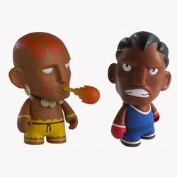 Street Fighter Mini Figures Series