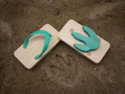 Leave Monster's Footprints with Kiko+ Ashiato Sandals