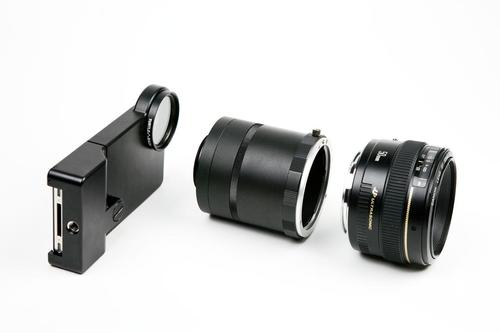 iPhone SLR Mount Turns Your iPhone into DSLR Camera
