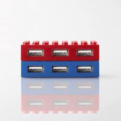 Elecom LEGO Styled 4-Port USB Hub