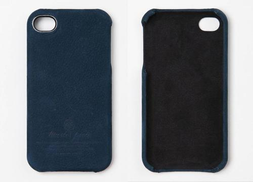 Master-Piece Equipment Series Suede iPhone 4 Case