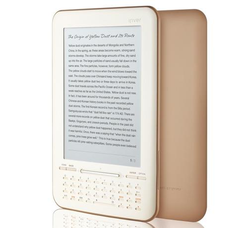 iriver Story HD eBook Reader with the Support of Google eBooks