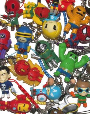 Tokidoki Collectible X Marvel Frenzies Charm Series