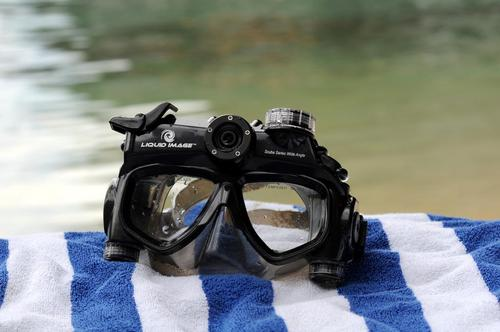 XSC Wide Angle Camera Diving Mask