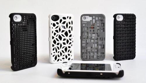 Freshfiber 3D Printed iPhone 4 Case