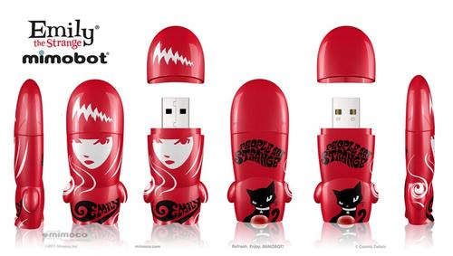 Mimoco Comic-Con Exclusive Mimobot USB Flash Drives