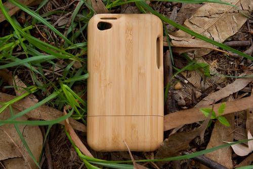 Handcrafted Bamboo iPod Touch 4G Case