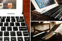 Aluminum Keyboard Case Buddy for iPad 2