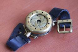 Steampunk Watch with Iris Cover