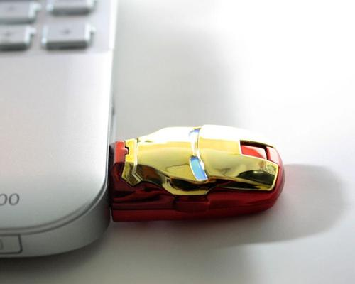 Iron Man Themed USB Flash Drive