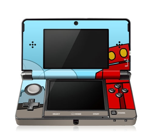 GelaSkin Nintendo 3DS Vinyl Decal