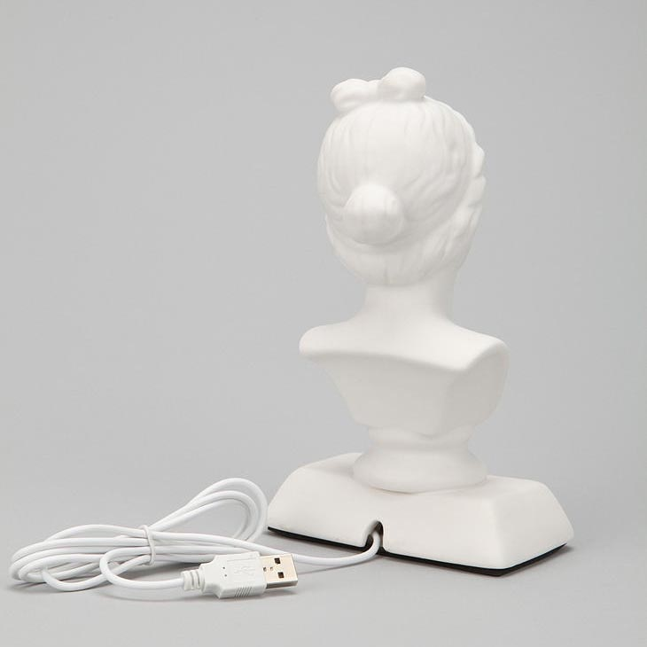 Aphrodite Bust Shaped USB Hub