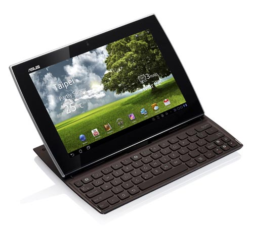 , let's go on checking the Android tablet with built-in keyboard