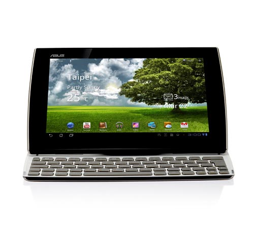 Asus Eee Pad Slider SL101 Android Tablet with Built-In