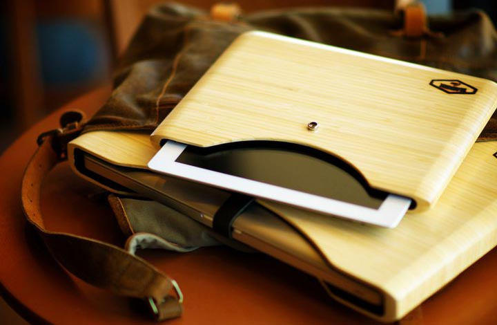 Blackbox Bamboo iPad 2 Case