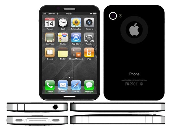 Concept iPhone 5 with Fingerprint Scanner