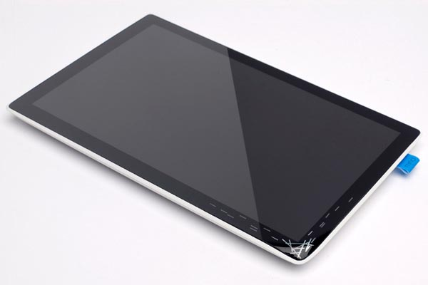 Concept Tablet PC with Interactive Backup Solution