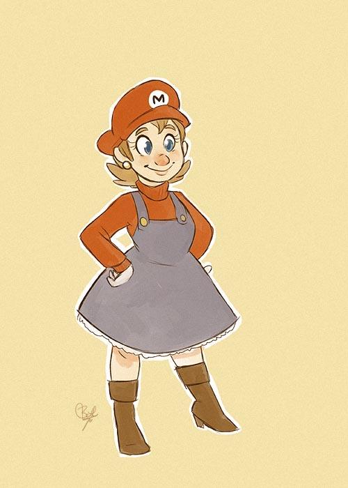 Fantastic Super Mario Sisters