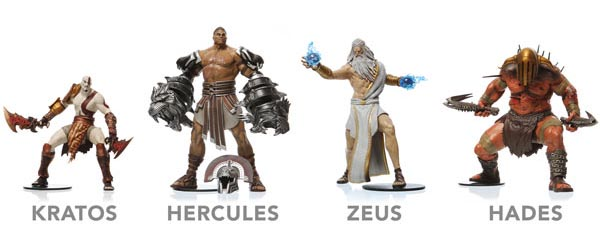 God of War Action Figure Series