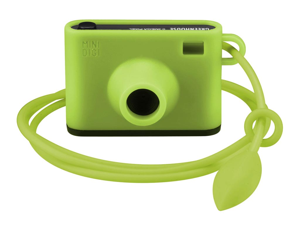 Green House Vibrant Mini Digital Camera Gadgetsin