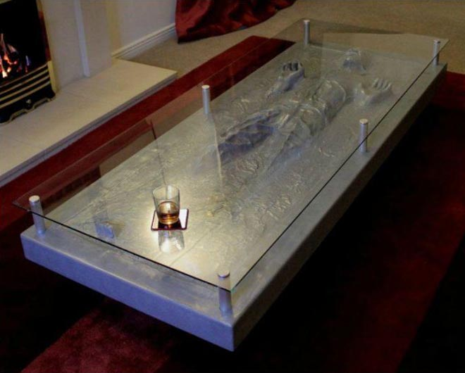 han solo in carbonite coffee table | gadgetsin