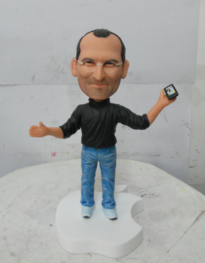 steve jobs figure Handmade Steve Jobs Figure