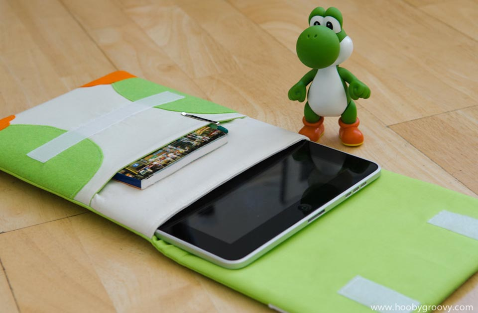 Handmade Yoshi Ipad 2 Case Gadgetsin