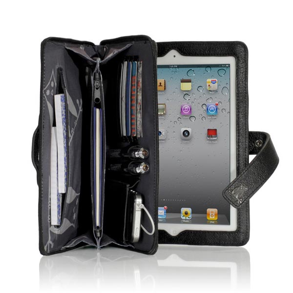 Happy Owl Studio Wallet iPad 2 Case