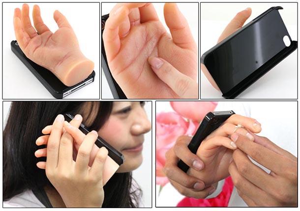 Hilarious Hand iPhone 4 Case