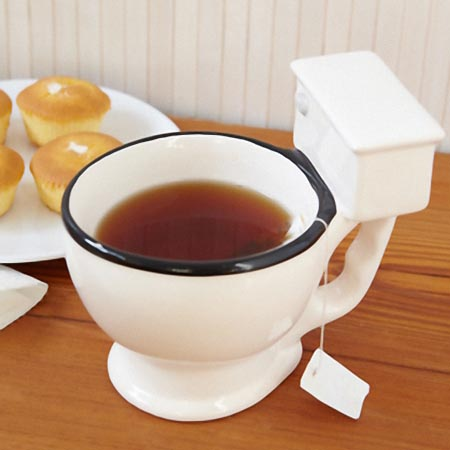 Hilarious Toilet Shaped Mug Cup Gadgetsin