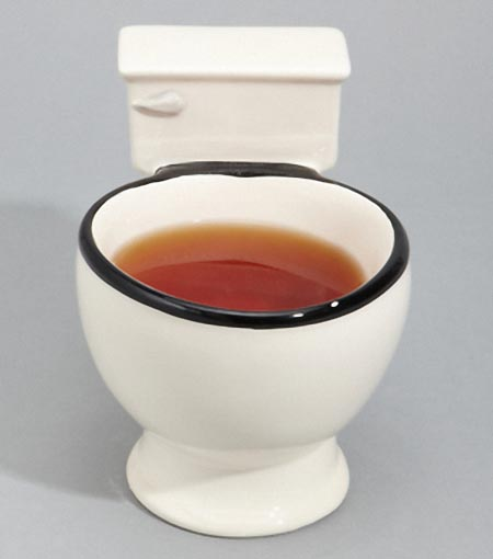 Battery Powered Outlet >> Hilarious Toilet Shaped Mug Cup | Gadgetsin