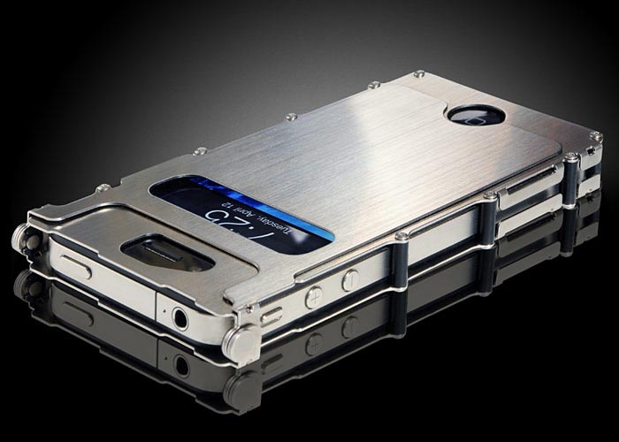 iNoxCase Stainless Steel iPhone 4 Case
