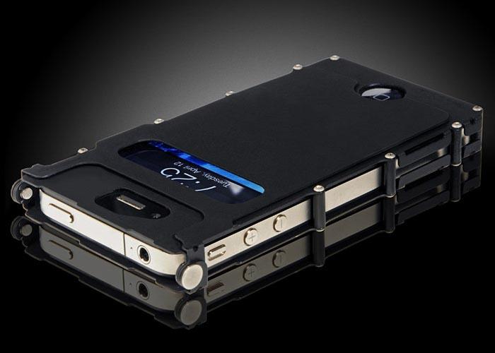 iNoxCase Stainless Steel iPhone 4 Case | Gadgetsin
