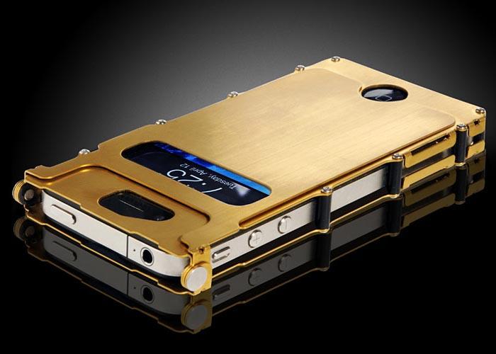 iNoxCase Stainless Steel iPhone 4 Case   Gadgetsin