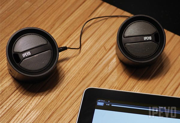 IPEVO Tubular Wireless Speakers