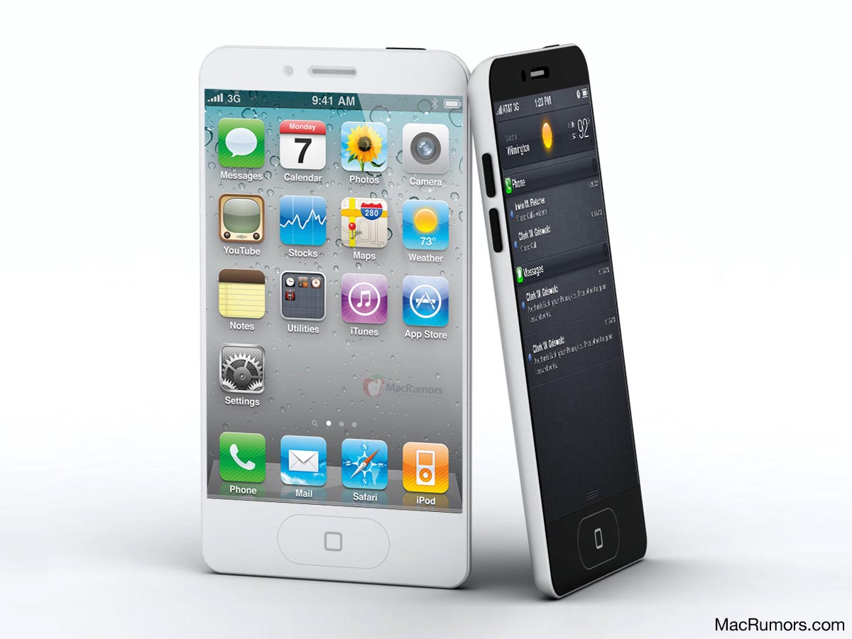 iphone 5 mockup based on leaked case design gadgetsin