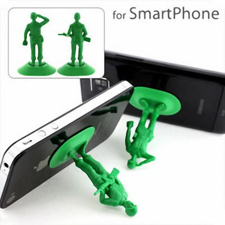 iSoldier Plastic Soldier Styled Smart Phone Stand