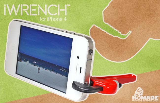 iWrench Phone Stand for iPhone 4, iPod and More