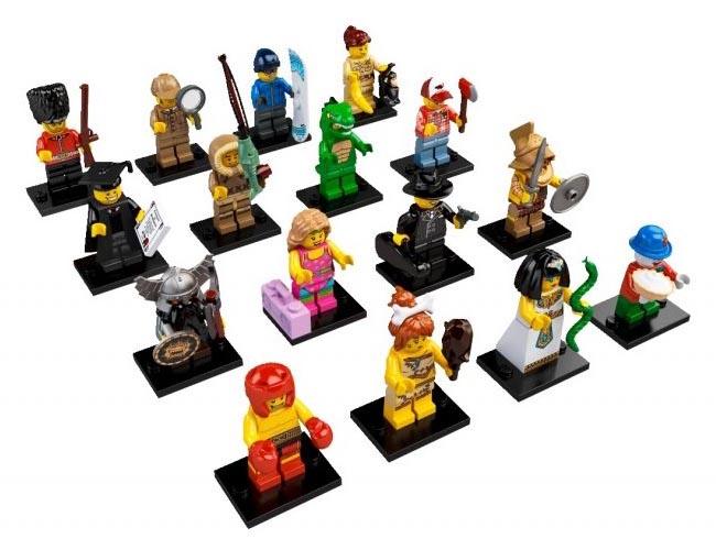 Lego Minifigures Snowboarder Each Series 5 Lego Minifigure