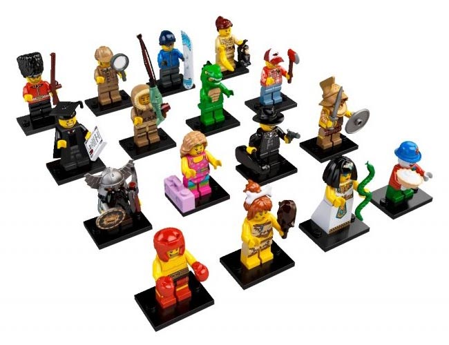 LEGO Minifigures Series 5 Now Available