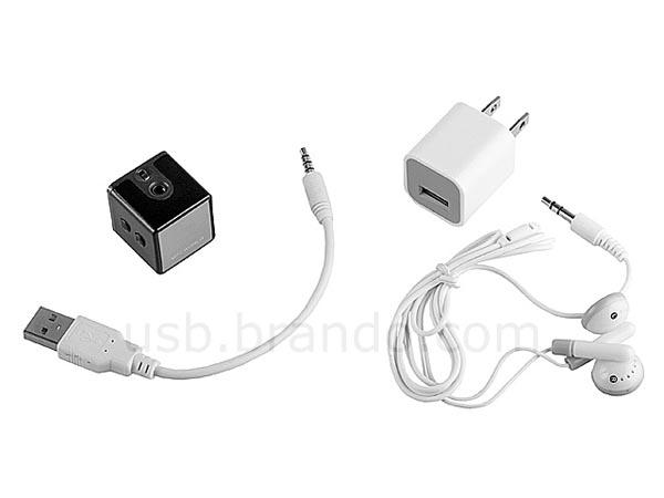 Mini Cube MP3 Player with FM Radio