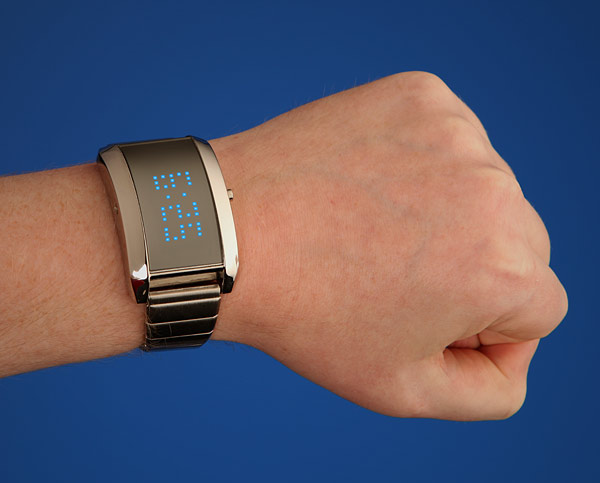 Mirror Universe LED Watch