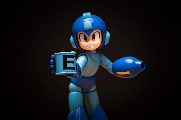Model Kit of Mega Man Action Figure