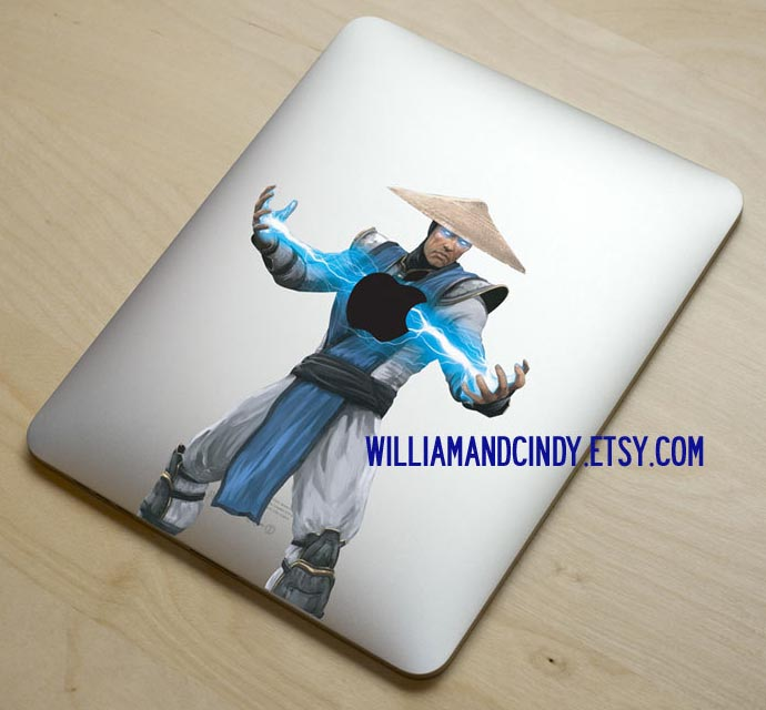 Mortal Kombat Raiden Vinyl Decal for Original iPad and iPad 2