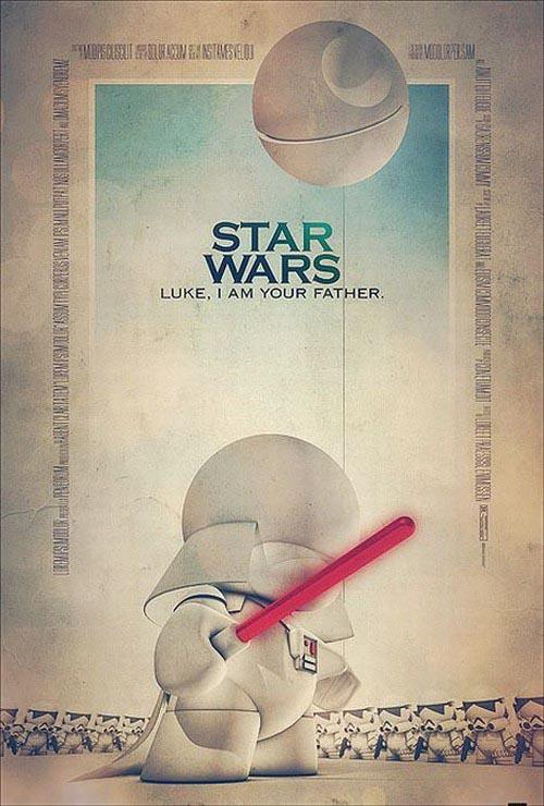 Movie Posters Based On Vinyl Toys
