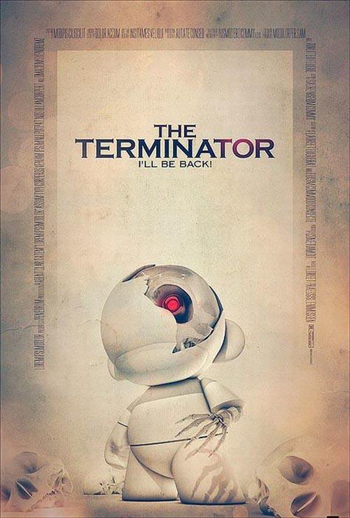 movie posters based on vinyl toys gadgetsin