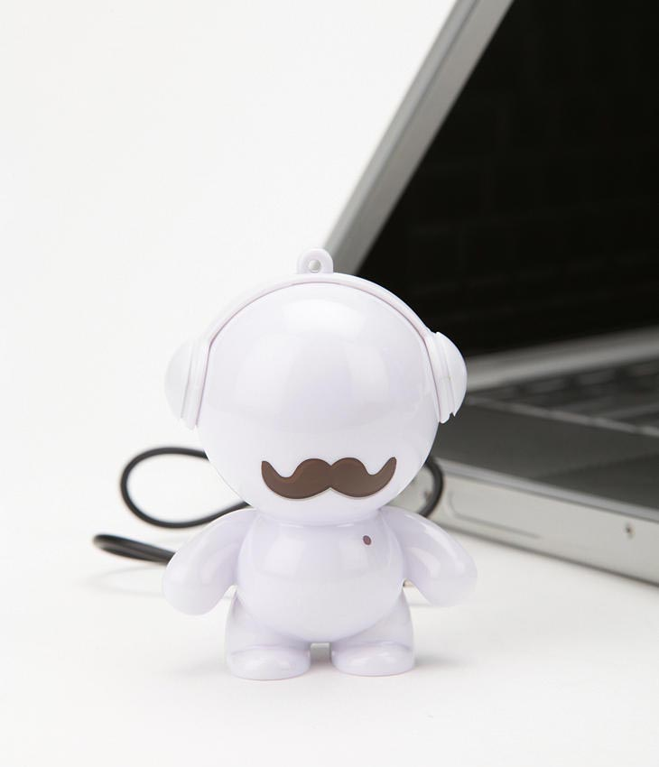 Mustached Headphonies Portable Speaker