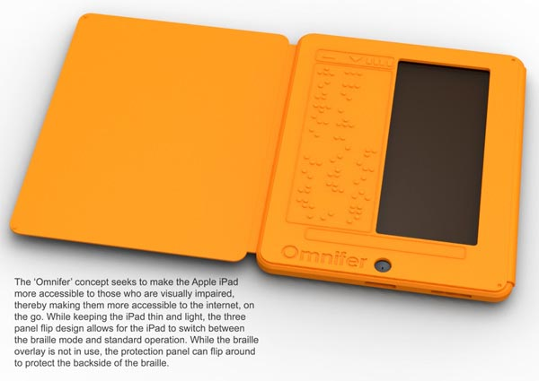 Omnifer: An iPad Case Designed for Blind and Visually Impaired Customers