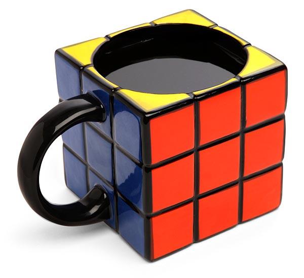 Rubik's Cube Styled Mug