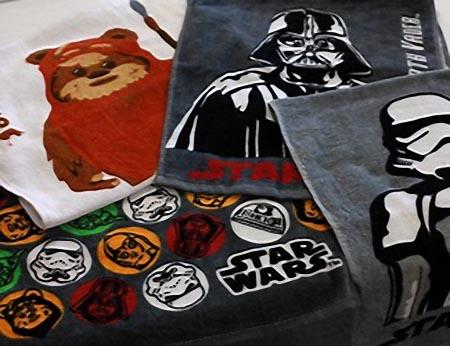 Star Wars Themed Face Towel Set